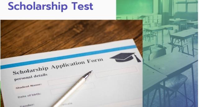 School Scholarship Online Tests