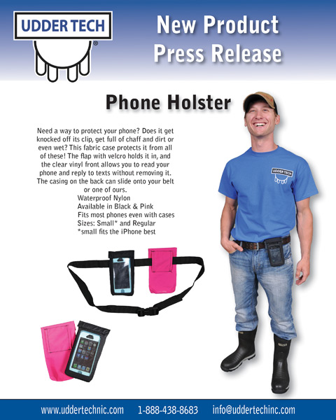 New Product Press Release from Udder Tech, Inc.