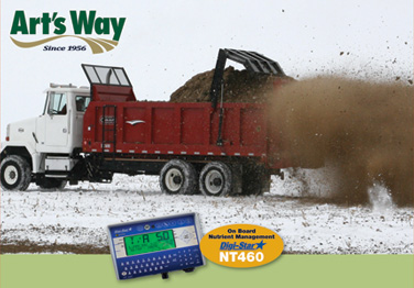 Art's Way V-180 Spreader Equipped with the Digi-Star® Nutrient Management System Article