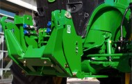 Push-button folding introduced with new LAFORGE Front 3-Point Hitch for JOHN DEERE 7R.