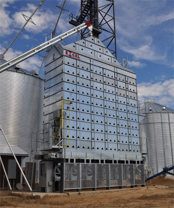 Superior Manufacturing EXCEL Dryers Provide High Efficiency and Grain Quality