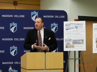 Madison College, Cleary Building Corp. ink 'Corporate-to-College' agreement