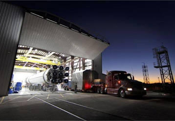 Two more huge Schweiss bifold doors  destined for SpaceX at Cape Canaveral