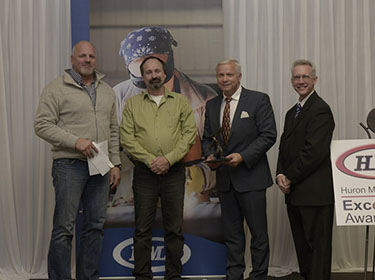 Britespan Wins Manufacturing Excellence Award from   Huron Manufacturing Association