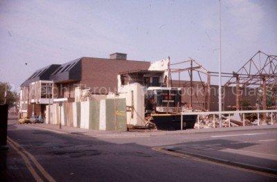 Regal Cinema Being Demolished