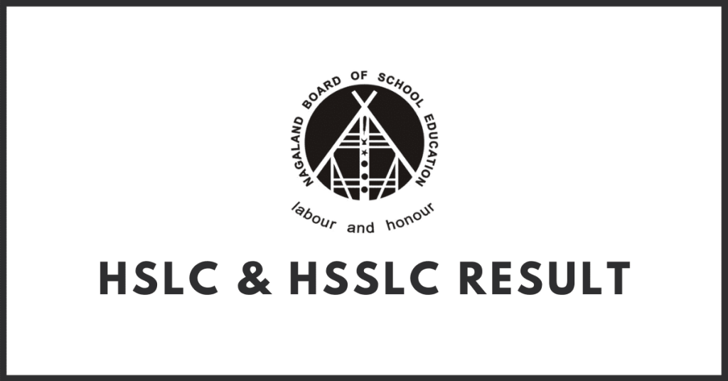 NBSE HSLC and HSSLC result