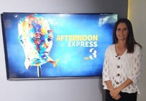 Shirley Erwee on Afternoon Express