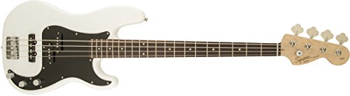 31iefuDwX6L - Squier by Fender Affinity Series Series Precision Bass PJ Electric Bass Guitar, Rosewood Fingerboard, Olympic White