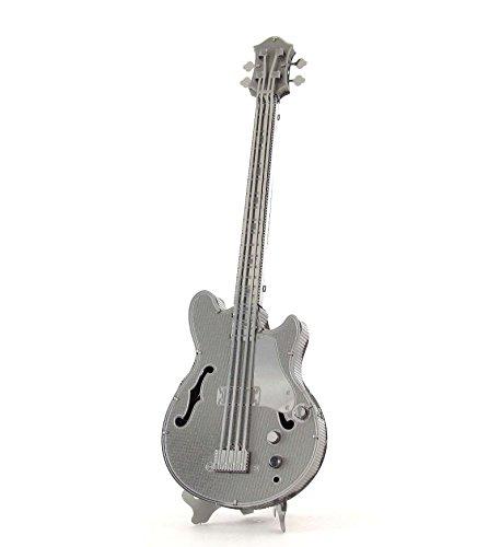 412Wz7ZLQ6L - Fascinations Metal Earth Electric Bass Guitar 3D Metal Model Kit