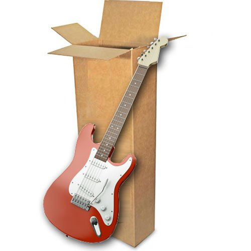 41Z7antosyL - EcoBox 18 x 7 x 52 Inches Shipping/Moving Corrugated Box Carton for Bass Guitar (E4898)