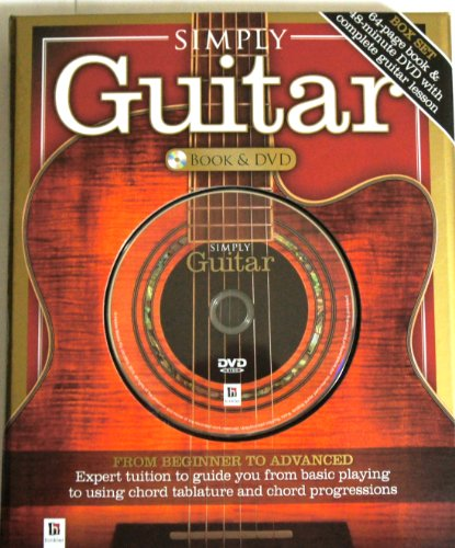 510Fp UUaSL - SIMPLY Guitar [64 Page BOOK & Complete Guitar Lesson on 18 Minute DVD]