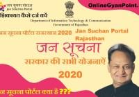 Rajasthan Jan Suchan Portal