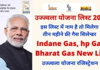 Indane Gas Ujjwala Yojana list