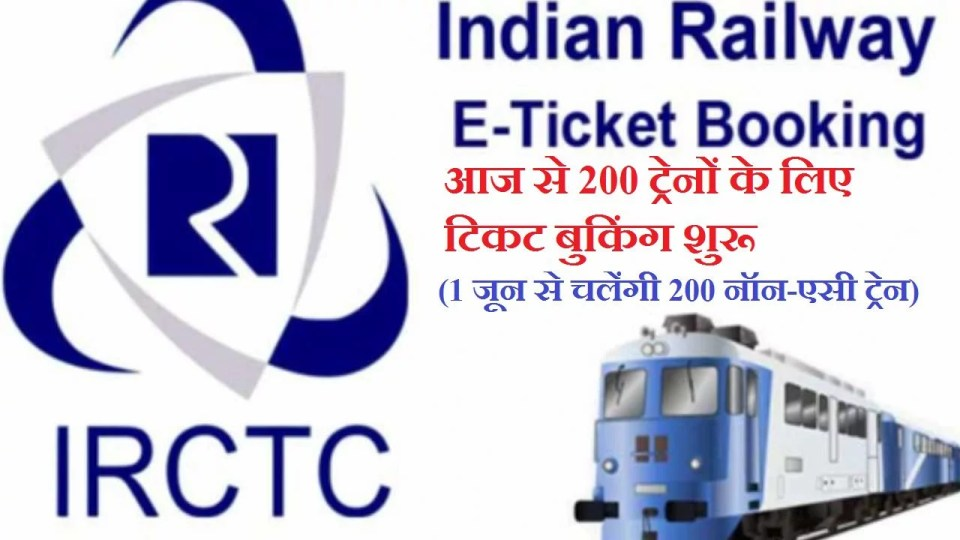 Indian Railway IRCTC Trains Ticket Booking Online