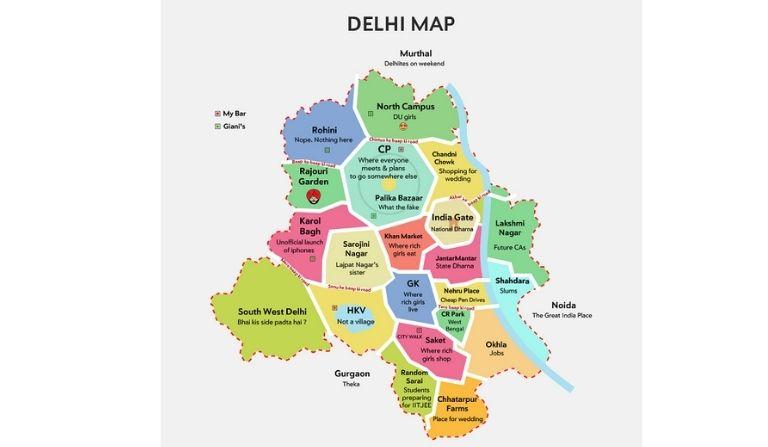 Delhi in Hindi