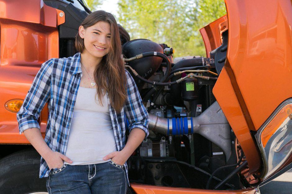 SKILSS USA Diesel Mechanic Winner McKenzie Budrow