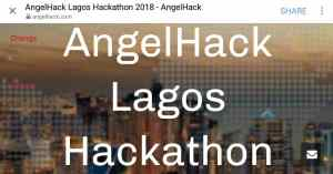 Read more about the article Global Hackathon Series: AngelHack debut in Lagos, Nigeria this July 2018