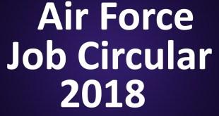 Bd Jobs Govt Jobs in bangladesh Air Force job circular 2018