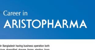Aristopharma Ltd Jobs Circular 2020