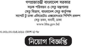 Ministry of road transport and bridges job circular 2020