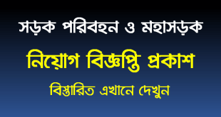 Ministry of road transport and bridges job circular 2021