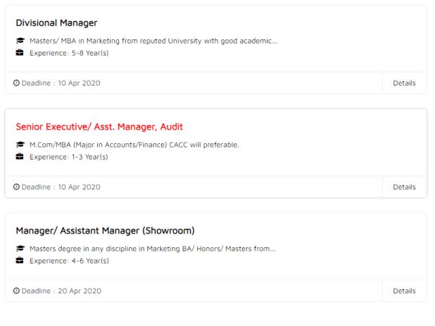 Minister Hi Tech Park Ltd Job Circular 2020