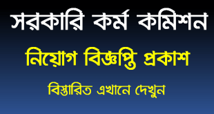 Bangladesh public service commission job circular 2021