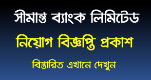 Shimanto Bank Limited Job Circular 2021