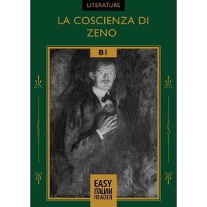 Easy Italian reader ebooks - La coscienza di Zeno - cover image