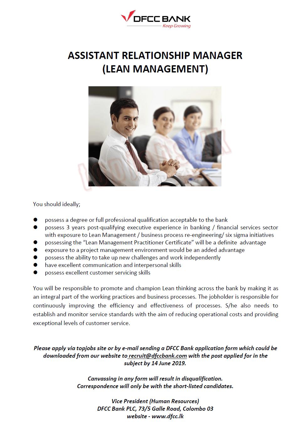 Banking Job Vacancies