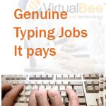 Genuine Typing Jobs-It pays