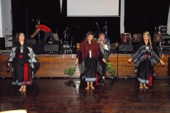 Chilean dancers at Marrickville Community Centre