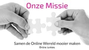 ONZE MISSIE | Online Junkies