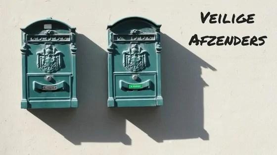 Veilige afzenders toevoegen mail