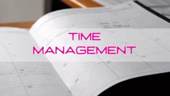 Slim omgaan met je tijd