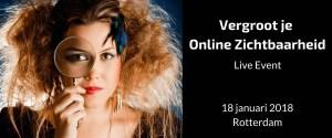 Vergroot je Online Zichtbaarheid Event