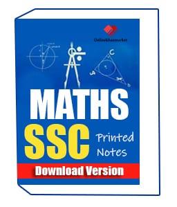 Maths-SSC-Printed-Notes - OnlineKhanMarket