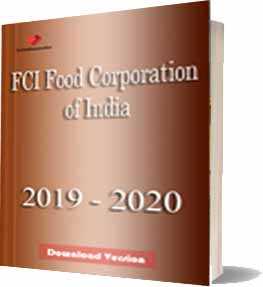 FCI Food Corporation of India Download Version Notes 2019 -2020