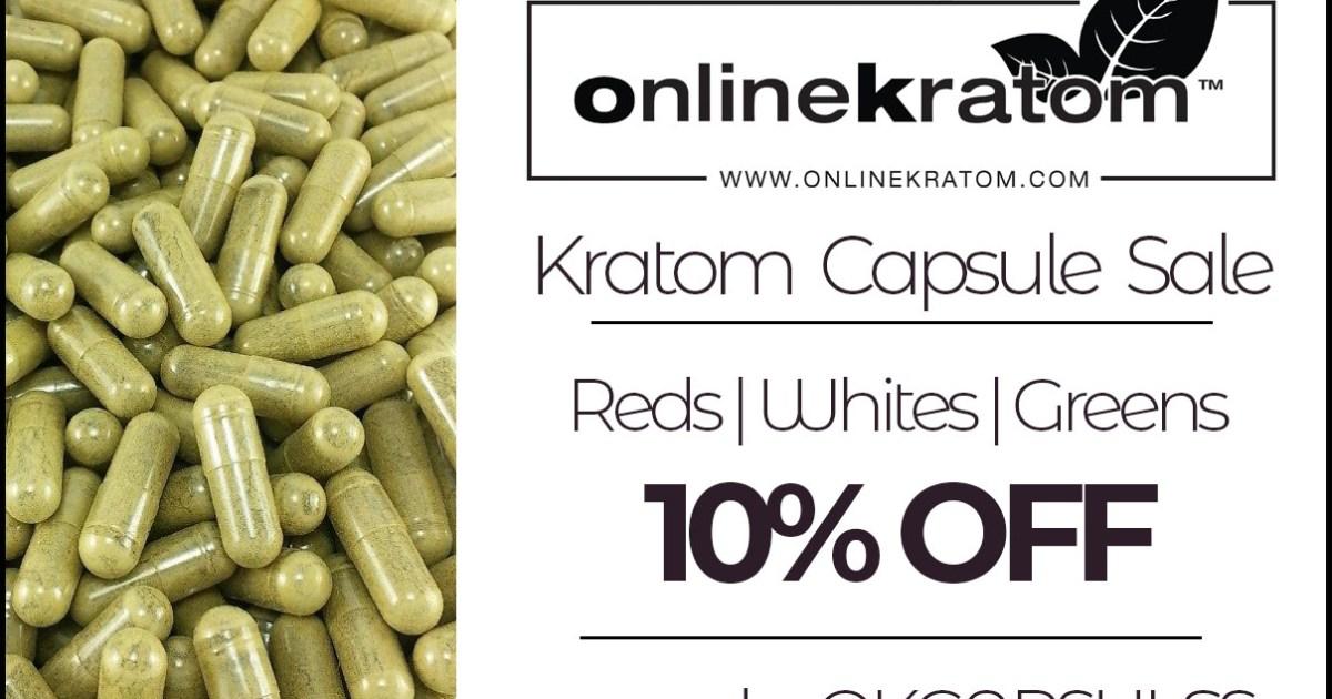 Online Kratom Capsule Sale