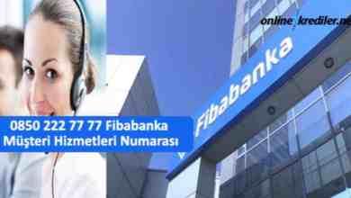 Photo of 0850 222 77 77 Fibabanka Müşteri Hizmetleri Numarası
