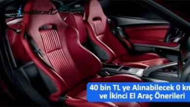 Photo of 40 bin TL ye Alınabilecek İkinci El Araç Önerileri