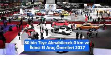Photo of 80 bin TLye Alınabilecek 0 km ve İkinci El Araç Öneriler