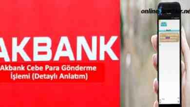 Photo of Akbank Cebe Para Gönderme İşlemi (Detaylı Anlatım)