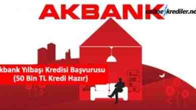 Photo of Akbank Yılbaşı Kredisi Başvurusu (Örnek Hesaplama Planı)