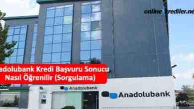 Photo of Anadolubank Kredi Başvuru Sonucu Nasıl Öğrenilir (Sorgulama)