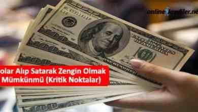 Photo of Dolar Alıp Satarak Zengin Olmak Mümkünmü (Kritik Noktalar)