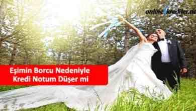 Photo of Eşimin Borcu Nedeniyle Kredi Notum Düşer mi