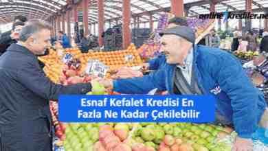 Photo of Esnaf Kefalet Kredisi En Fazla Ne Kadar Çekilebilir