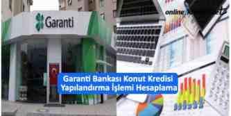 garanti bbva konut kredi yapılandırma