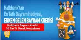 halk bankası bayram kredisi